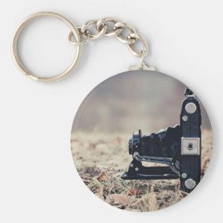 Old folding camera keychains