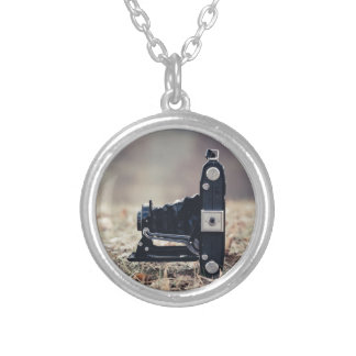 Old folding camera necklaces
