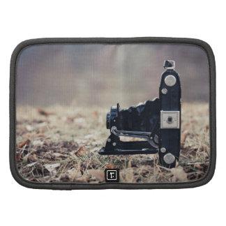 Old folding camera folio planners