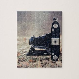 Old folding camera jigsaw puzzles