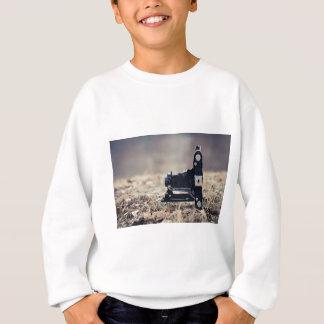 Old folding camera sweatshirt