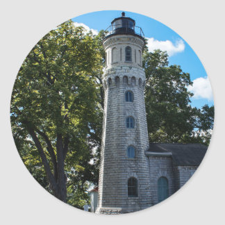 Old Fort Niagara Lighthouse Classic Round Sticker