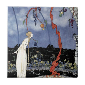Old French Fairy Tales: A Tree of Marvelous Beauty Ceramic Tiles