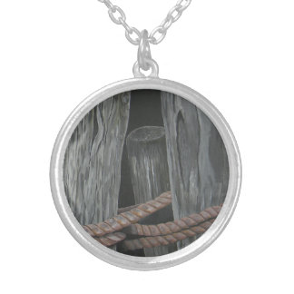 Old Friends Silver Plated Necklace