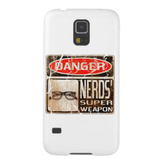 Old funny signboard for Nerds' Super Weapon Galaxy S5 Cover