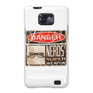 Old funny signboard for Nerds Super Weapon Samsung Galaxy S2 Case