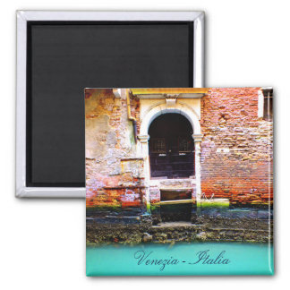 Old Gate From Venice, Italy Magnet
