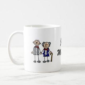 Old Gay Couple Coffee Mug