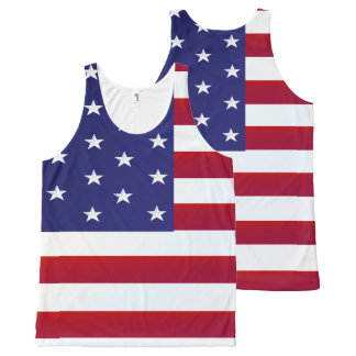 Old Glory-America All-Over-Print Tank Top