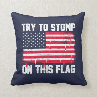 Old Glory Deserves Better! Throw Pillow