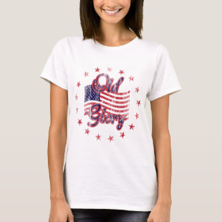 Old Glory Flag Women's Shirt