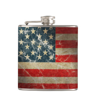 OLD GLORY HIP FLASK