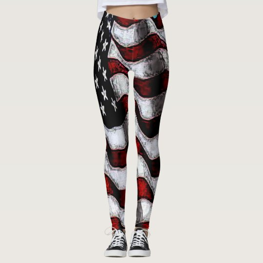 Old Glory Leggings