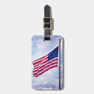 Old Glory Luggage Tags