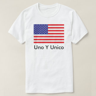 Old Glory on T-shirt