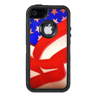 Old Glory OtterBox Defender iPhone SE/5/5s Case