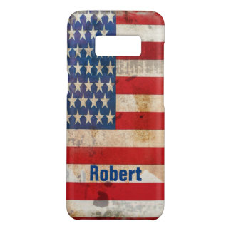 Old glory Stars Stripes distressed american flag Case-Mate Samsung Galaxy S8 Case