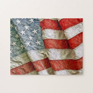 Old Glory Stars & Stripes Jigsaw Puzzle
