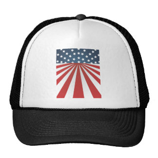 old glory trucker hat
