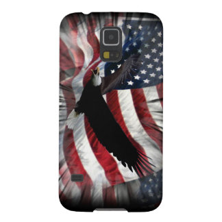Old Glory with Eagle Galaxy S5 Case