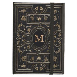 Old Gold Monogram iPad Air Cover