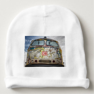 Old graffiti truck baby beanie