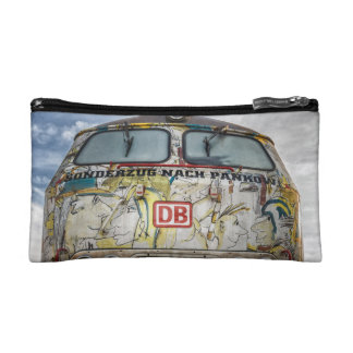 Old graffiti truck cosmetic bags