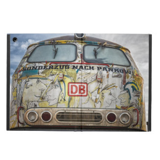 Old graffiti truck cover for iPad air