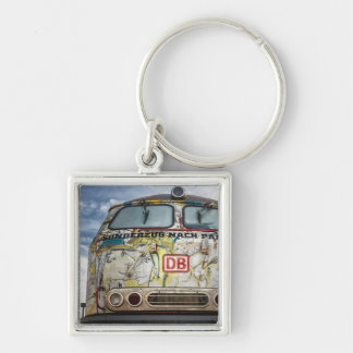 Old graffiti truck keychain