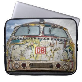 Old graffiti truck laptop sleeve