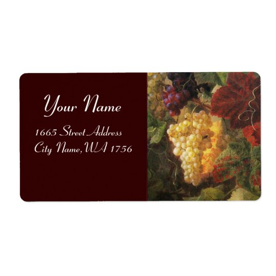 OLD GRAPE VINEYARD WINE TASTING PARTY LABELS