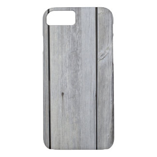 Old gray barn wall iPhone 7 case