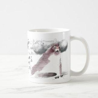 Old grouchy cat needs your coffee coffee mug
