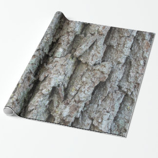 Old Growth Oak Bark Wrapping Paper