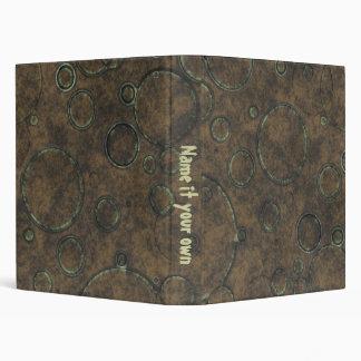 Old grunge canvas binders