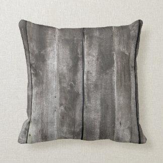 Old Grunge Wood Texture Pilllow Throw Pillow