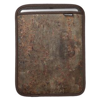 Old Grungy Leather Print iPad Sleeve
