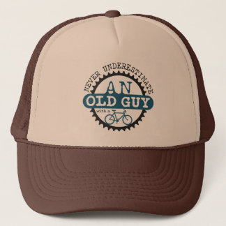 Old Guy Trucker Hat