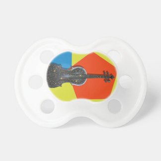 Old hand painted Violin Baby Pacifiers