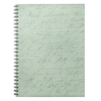 Old handwriting love letters faded antique script note books
