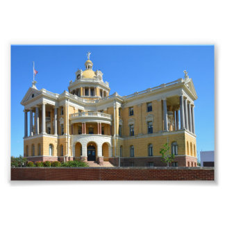 Old Harrison County Courthouse, Marshall, Texas Photo Print