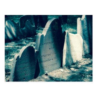 Old Headstones Postcard