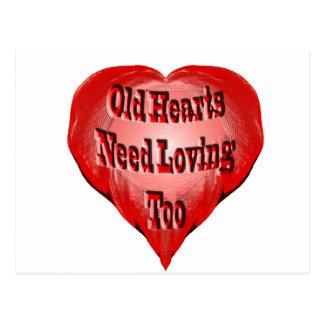 Old Heart Postcard