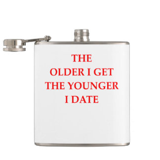 old hip flask