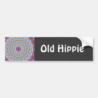 Old Hippie Bumper Sticker