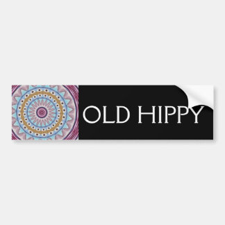 OLD HIPPY BUMPER STICKER