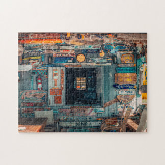 Old Holiday Hut Bahamas Jigsaw Puzzle
