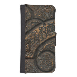 Old holy bible iPhone SE/5/5s wallet case