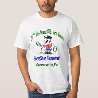 Old Home Week Horseshoes T-Shirt