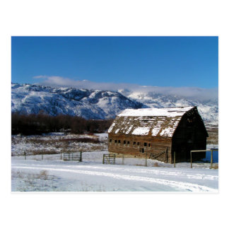 Old Homestead Barn Postcard